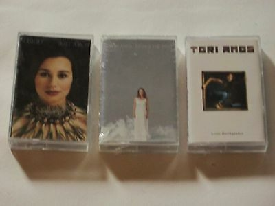 Set of 3 Tori Amos Cassette NEW Crucifix Little Earthquakes Under the Pink