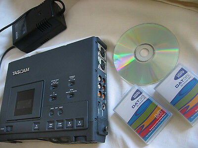 Tascam DA-P1 DAT Field Recorder Digital Audio Tape Player Issue with 2 HHB Tape