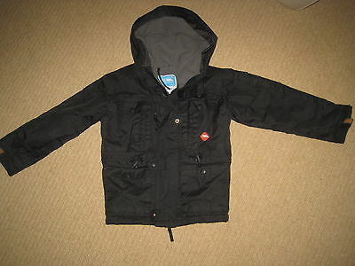 Boys TRESPASS Hooded Windproof Waterproof Thermal Padded Coat Jacket   2 3 yrs