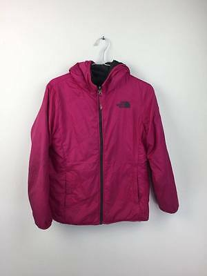 The North Face Girls Kids Reversible 2-in-1 Jacket Coat Large L Age 14-16 Pink