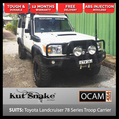 Kut Snake Flares For Toyota Landcruiser 78 Series Troop Carrier ABS Full Set