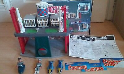 Matchbox Gerry Anderson Stingray Marineville HQ with Stingray Superb Set! Figure