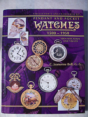ANTIQUE POCKET WATCH PRICE GUIDE COLLECTOR'S BOOK Hardback Big Book