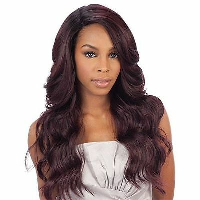 Equal Synthe Freetress Brazilian Lace Deep Invisible L Part Wig Danity