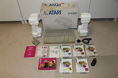 Boxed Refurbished Tested Atari St Ste Computer Tos V1.62 4Mb Midi Cubase Mouse