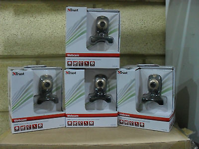 Bulk Lot 20 x Trust Primo Webcam Trust P/N 17405