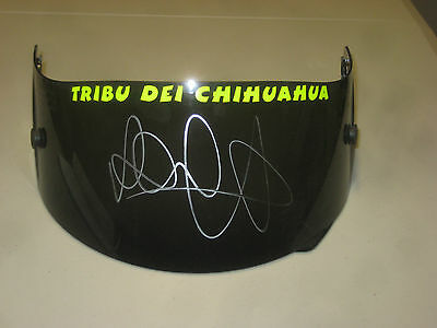 Valentino Rossi Hand Signed Tribu Visor Brand New Unframed + Photo Proof C.o.a