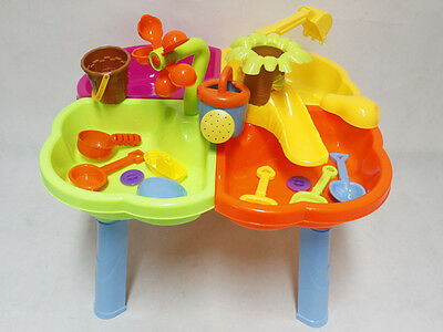Children's Sand And Water table with  stool