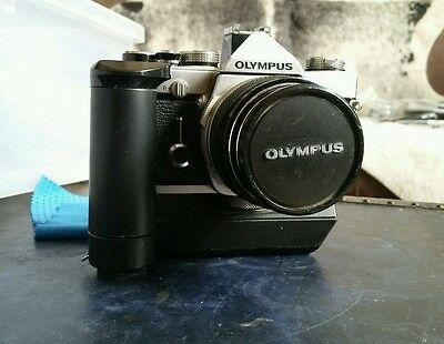Olympus OM-1 with Customized Lens Kit 35mm Film Camera