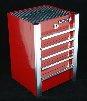 Matco Tools Collectible Mini Red Toolbox Coin Bank Piggy Bank Collector New