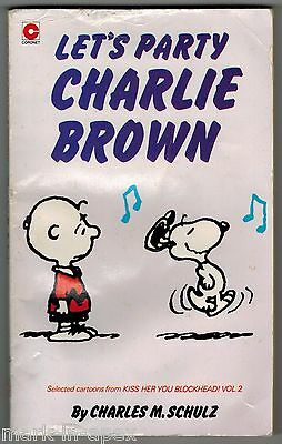 CORONET PEANUTS BOOK - # 75 Let's Party, Charlie Brown - Schulz (PB)