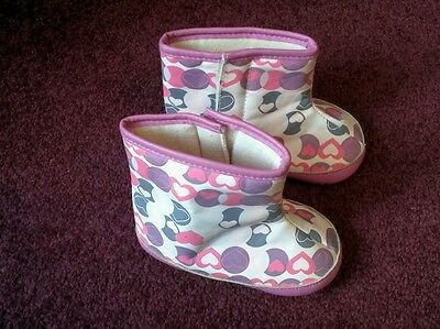 TU ..Kids Wellies..velcro fasrening....,...1 to 1 and a half years.