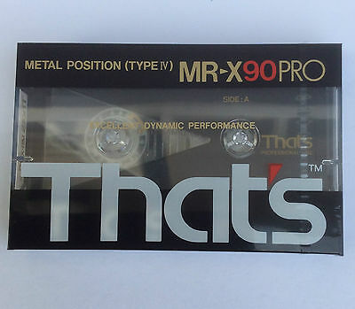 That's MR-X90PRO - Blank Metal audio Cassette - New and sealed