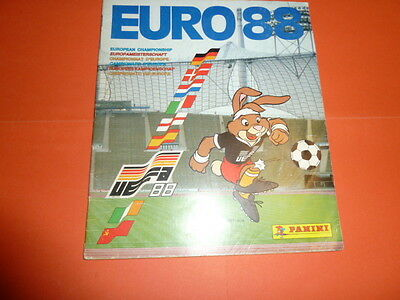 ALBUM PANINI FOOTBALL EURO 88 1988 INCOMPLET - 54 Stickers