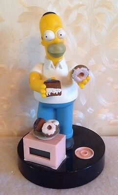 Homer Simpson  Alarm Clock - Wesco 1998 Simpsons Collectable