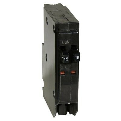 Square D by Schneider Electric 2-15 Amp 1-Pole Tandem Circuit Breaker
