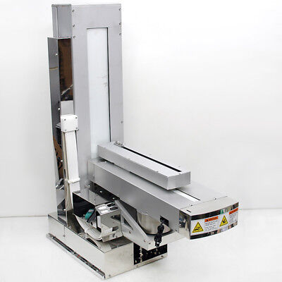 "NSK/Panasonic 3-Axis Robot Module 14 Vertical / 21"" Horizontal / Rotary Stage"