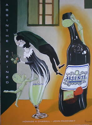 Absinthe Posters ABSENTE Your choice of 1 Poster