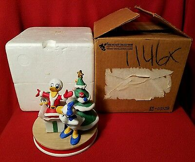 Disney Collection Christmas 1984 Celebrating Donald Duck's 50th Figurine LE