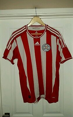 Adidas Paraguay Home Shirt Size Large
