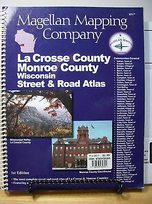 Street and Road Atlas LaCrosse and Monroe County Wisconsin 2003