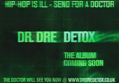 DR DRE Detox PHOTO Print POSTER Compton Snoop Dogg Eminem The Game Beats 002