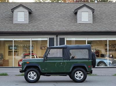 1994 Land Rover Defender D90 1994 Land Rover Defender 90 convertible, 5 speed, A/C, 53k miles