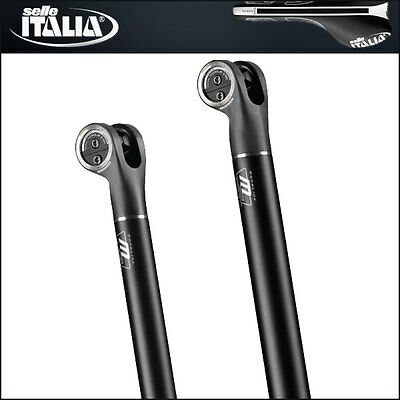SELLE ITALIA MONOLINK MX ALLOY SEATPOST 31.6mm / CARBON REINFORCE HEAD / NEW
