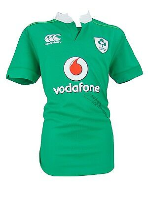 Connor Murray Signed Ireland Rugby Shirt+Photo Proof*see Murray Sign Shirt*