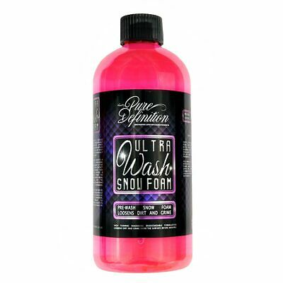 Snow Foam Car Washing Pre Wash Cleaning Auto Cleaning 800ml Pure Definition