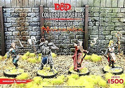 Dungeons & Dragons Collector's Series Heroes of Neverwinter GF9 71027 D&D