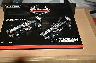 World Champion Edition 43Set 6 McLaren Mercedes World Champion Häkkinen 1998/99