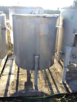 100 Gallon Stainless Steel Tanks With Hinging Removable Lids