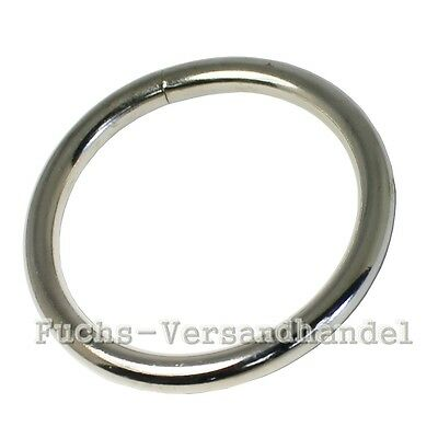 o-Rings nickel-plated 16,20,25mm,30,40,50 Steel Round ring O-Ring Metal mm