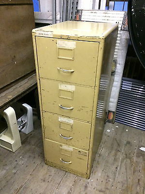 Vintage Industrial Filing Cabinet Storage Office Workshop