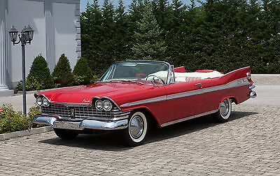 1959 Plymouth Other  1959 Plymouth Sport Fury Convertible