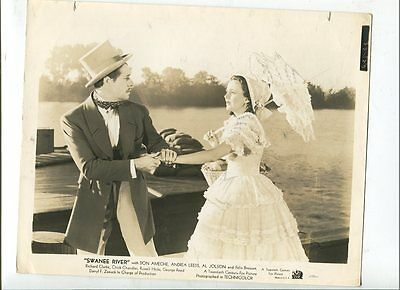 1939 Vintage Movie Photo Actor Don Ameche Andrea Leeds In Foster Swanee River