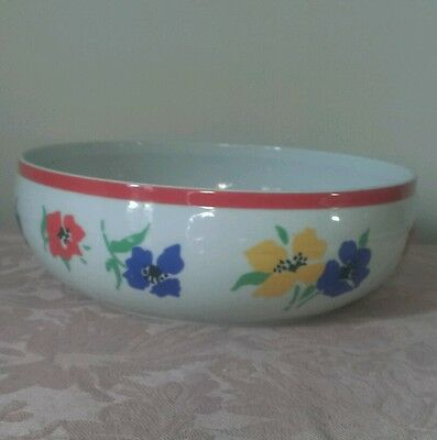 Block Hearthstone Anemone Serving Bowl