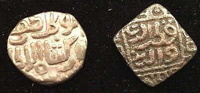 Delhi Sultanate Mubarak 4 and 8 gani - 700 yrs old - nice condition - from USA