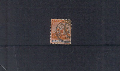 Barbados 1892-1903 8d used