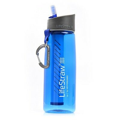 Lifestraw Go Water Bottle &  Filtration Purification System Filter Purifier NEW