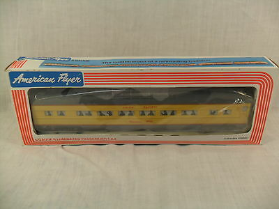 S Gauge Union Pacific American Flyer Illumiated Passenger Car