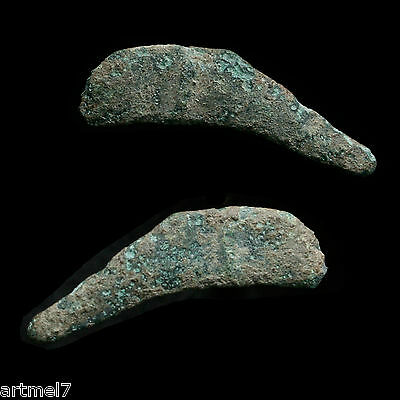 1 Ancient Greek Bronze Proto Money Leaping Dolphin 5th c BC