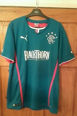Glasgow Rangers 2013/14 Home Football Shirt Mens Size Large