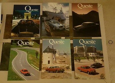 Quest Magazine Lot 3 5 6 7 8 and Summer 1994