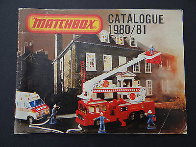 Catalogue du collectionneur MATCHBOX 1980/81