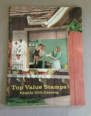 Top Value Stamps Family Gift Catalog #661 1960s