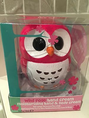 Cute Pink Rose Novelty Owl-Shaped Hand Cream Rose scented Pleasant/Refreshing
