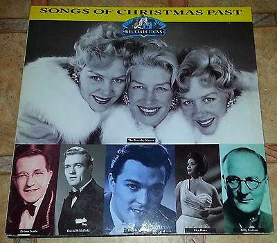 SONGS OF CHRISTMAS PAST - VARIOUS ARTISTS 40's & 50's - VINYL LP RECORD 12INCH