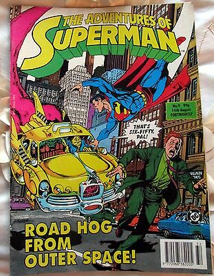 THE ADVENTURES OF SUPERMAN  ISSUE No 9  14th AUGUST 1993